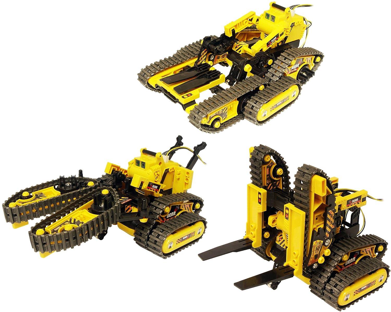 Amazon Com Owi 536 All Terrain 3 In 1 Rc Robot Kit Atr Toys Games