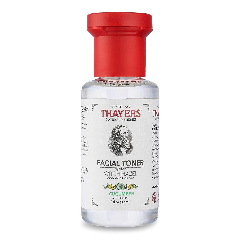 Thayers Trial Size Alcohol-Free Cucumber Witch Hazel Facial Toner with Aloe Vera Formula - 3 oz
