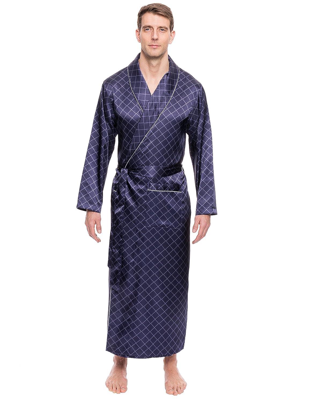 Twin Boat Men's Satin Robe twb_mn_stn_rb