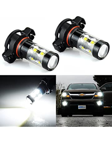 JDM ASTAR Extremely Bright Max 50W High Power 2504 PSX24W LED Fog Light Bulbs for DRL