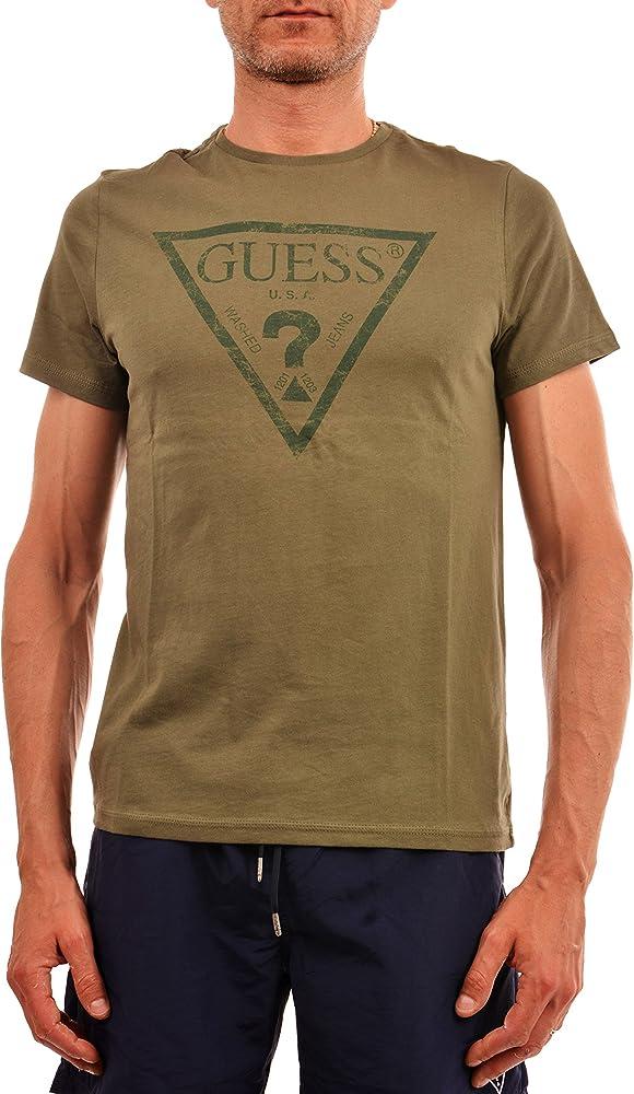 GUESS T-Shirt UOMO U82I00-I3Z00 Primavera/Estate S: Amazon.es: Ropa y accesorios