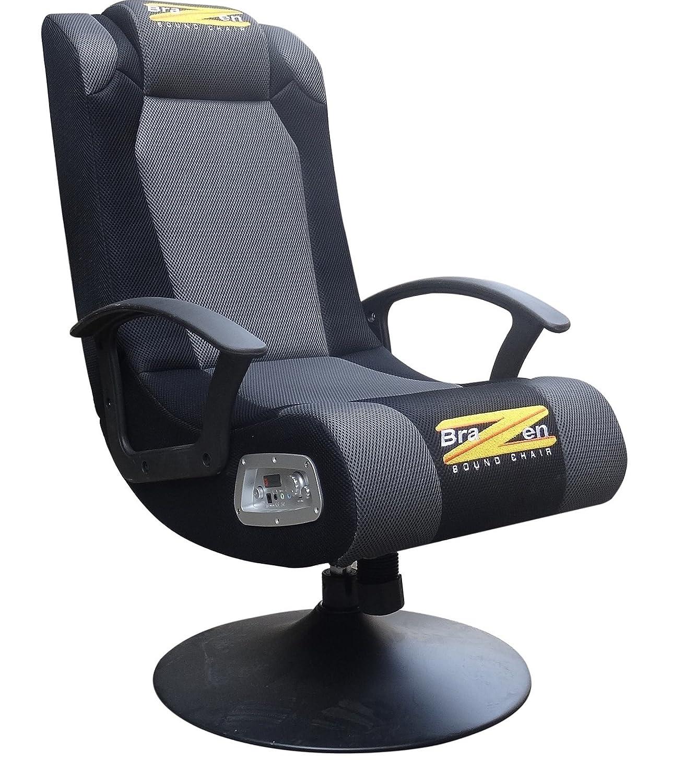 BraZen Stag 2 1 Surround Sound Gaming Chair Amazon