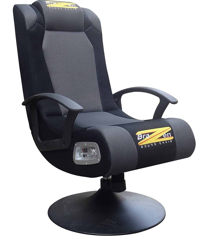 BraZen Stag 2.1 Surround Sound Gaming Chair: Amazon.co.uk: Computers U0026  Accessories
