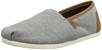 afa20b4a3684 Image Unavailable. Image not available for. Color: TOMS Men's Chambray  Classics Frost Grey ...