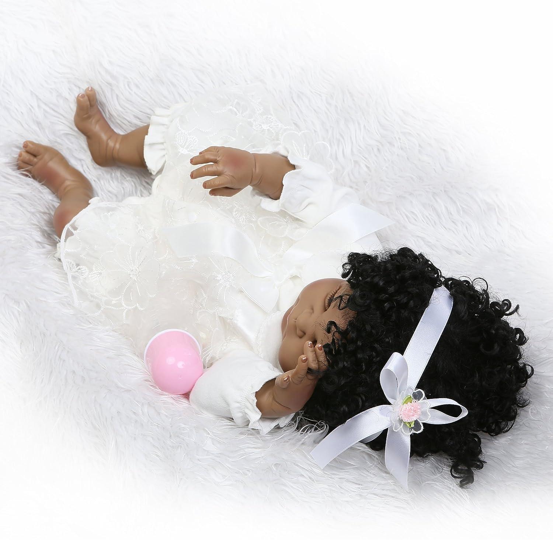 Amazon.com: Pursue Baby Negro muñeca American Girl Aubrey ...