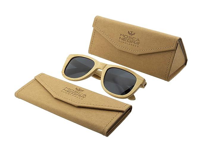 Gafas de sol madera MOSCA NEGRA modelo BAMBOO and Dark ...