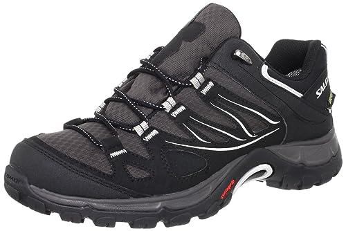 Salomon Women's Ellipse GTX Boots, Black (Autobahn/Black/Steel Grey),