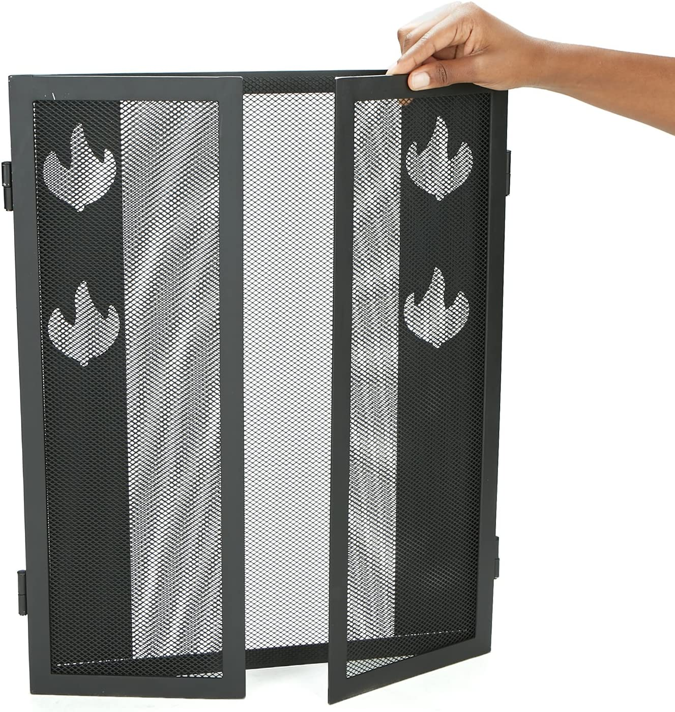 Black Mind Reader SCREENDP-BLK Fireplace Accessories