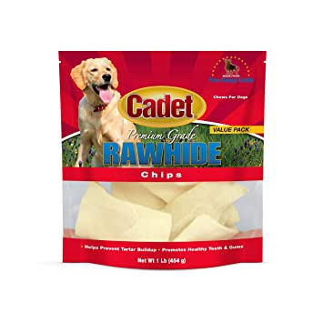 Amazon.com: IMS Trading 10060 – 16 Natural Chips de Rawhide ...