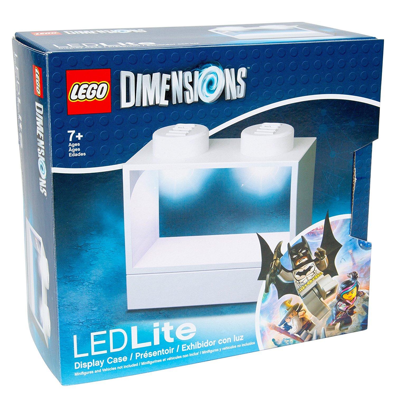 Lego Lights Dimensions Display Box (Weiß)