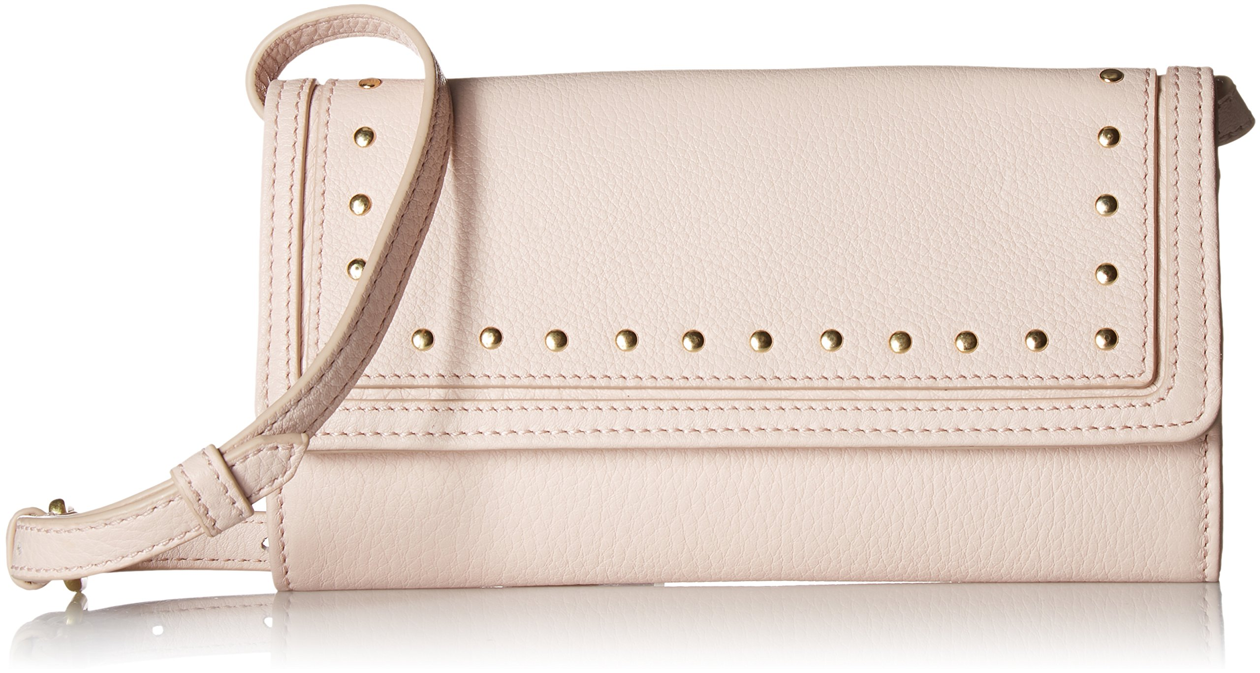 Cole Haan Cassidy Smartphone Wallet Crossbody Clutch Bag, Peach Blush