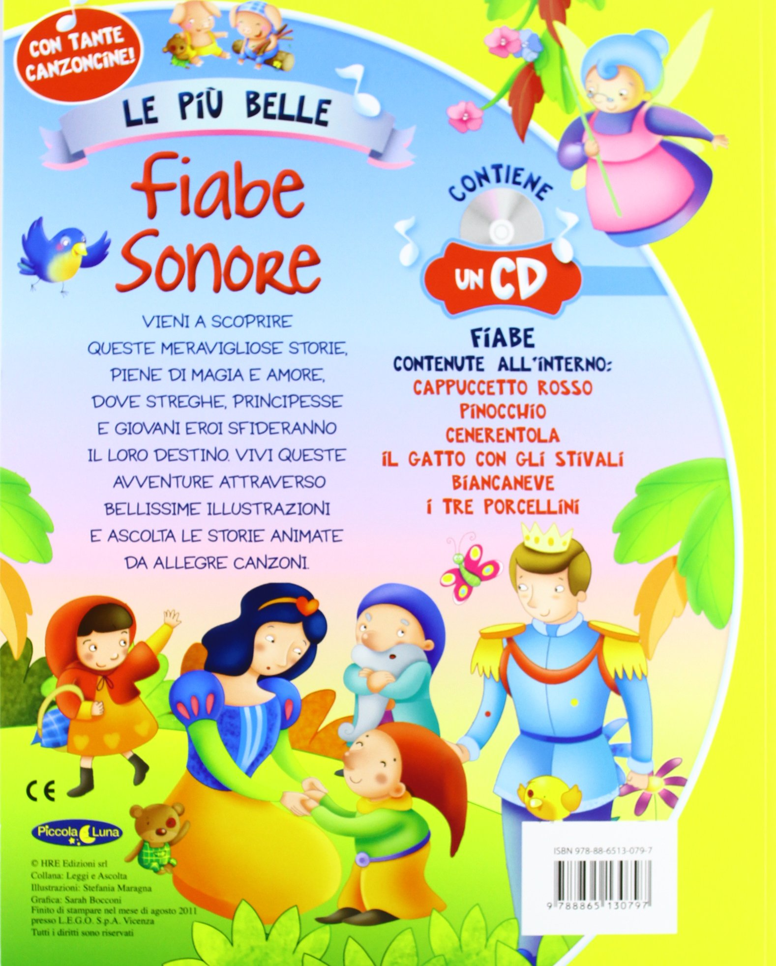 Top Amazon.it: Le più belle fiabe sonore. Ediz. illustrata. Con CD  EN78