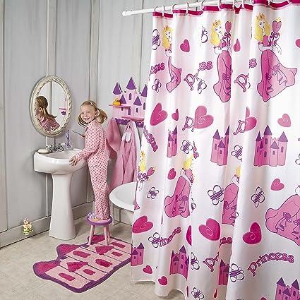 Amazon Princess Shower Curtain Home Kitchen