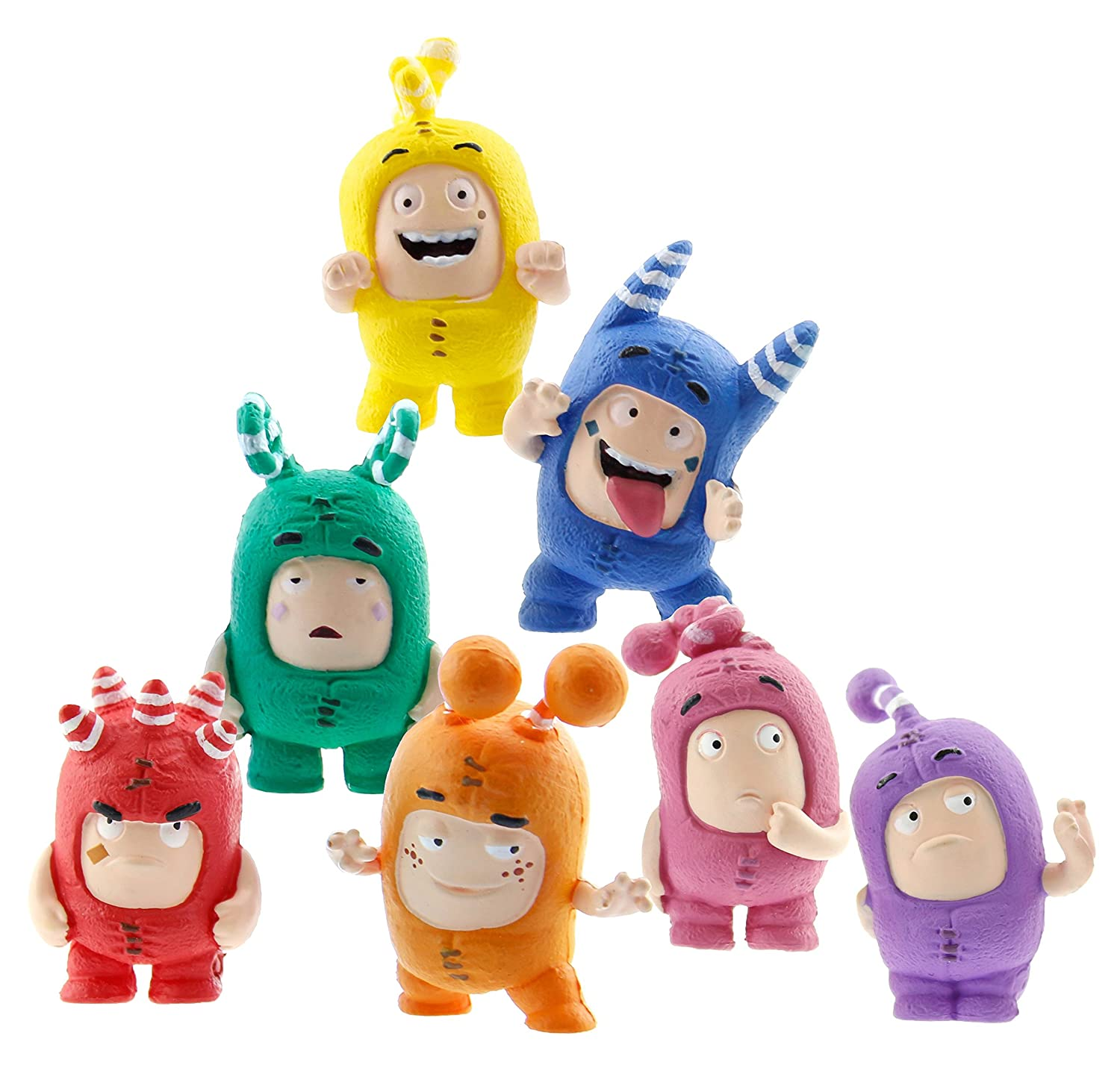 Oddbods - Lote de Figuras Mini: Golden Bear: Amazon.es: Juguetes y juegos