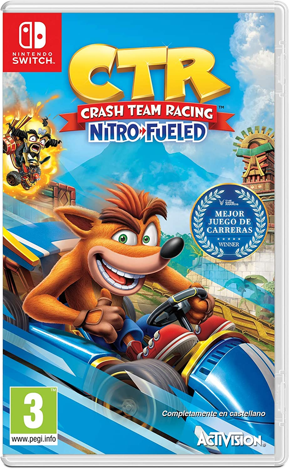 Crash Team Racing Nitro Fueled: Amazon.es: Videojuegos