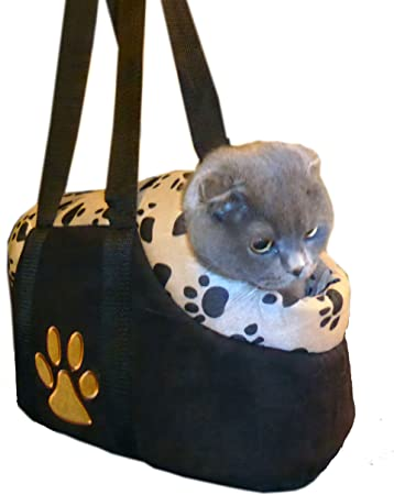 HDP Paw Style Small Pet Carrier - Affordable Padded Dog Tote