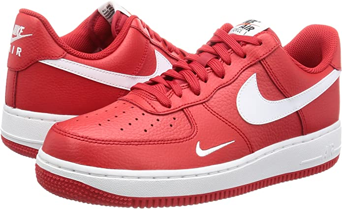 Nike Buty Air Force 1 820266-606 - Gorra de dedo, color rojo ...