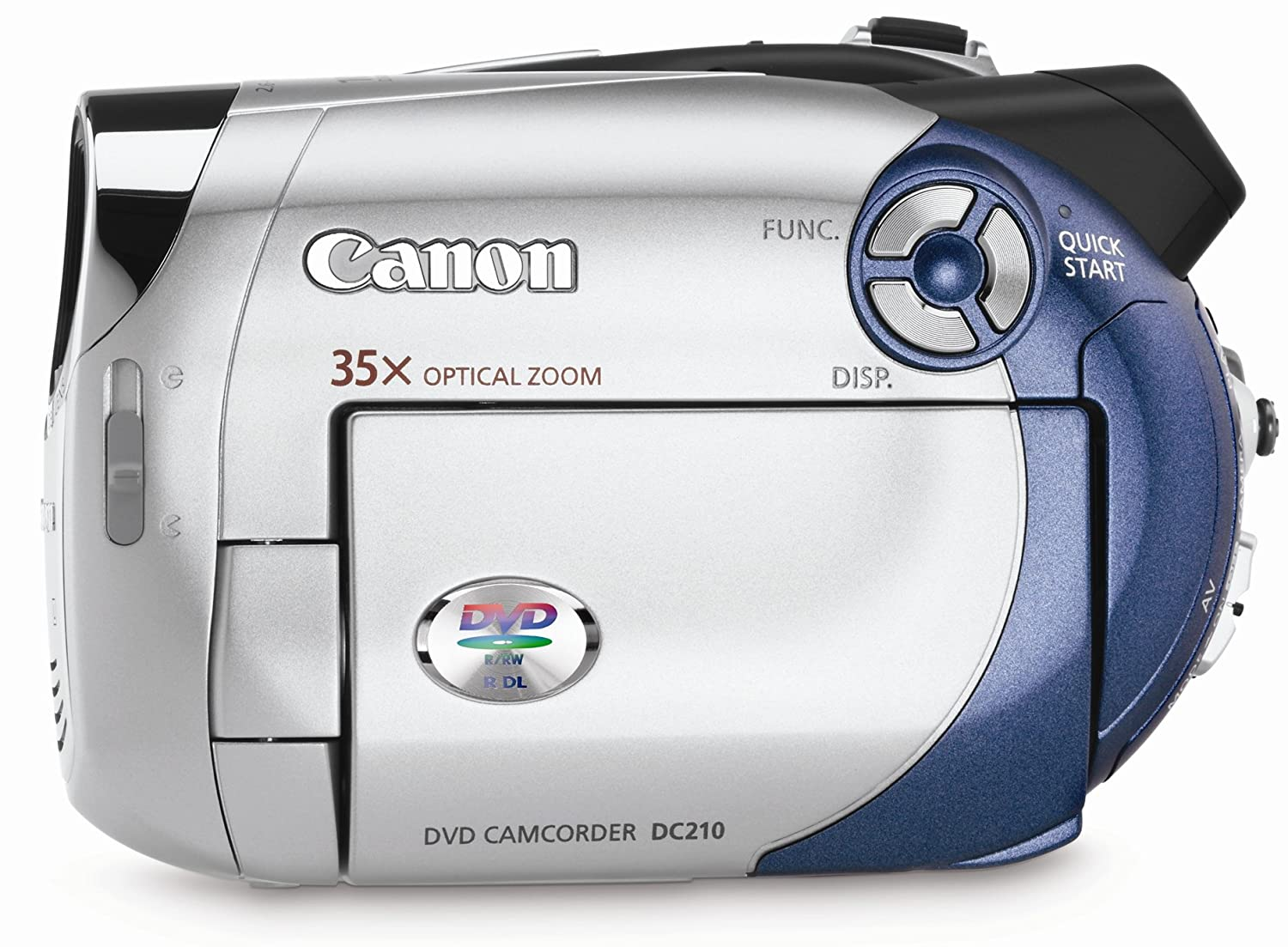 amazon com canon dc210 dvd camcorder with 35x optical zoom rh amazon com Canon DC210 Charger Canon DC210 Charger