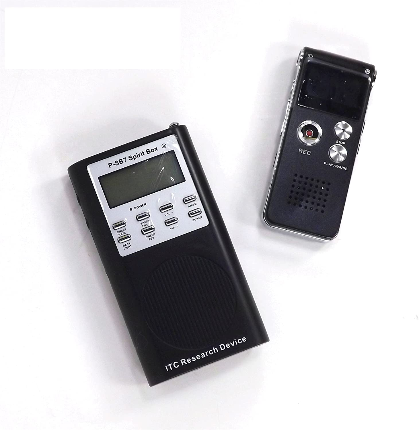 Amazon Com Evp Recorder Plus P Sb7 Spirit Box Paranormal Research Tools For Ghost Hunting Electronics