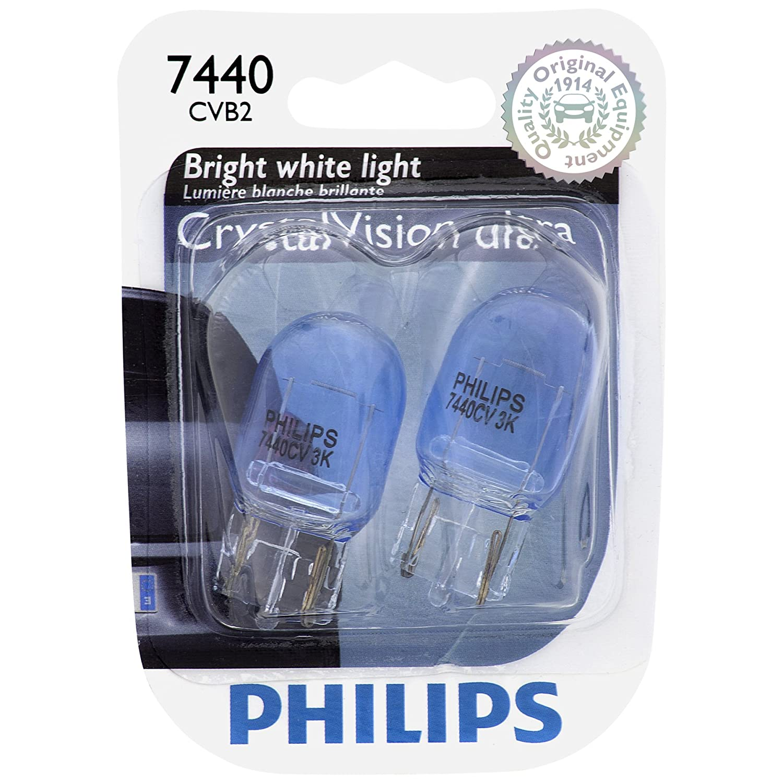 Amazon.com: Philips 921CVB2 CrystalVision Ultra Miniature Bulb, 2 Pack: Automotive