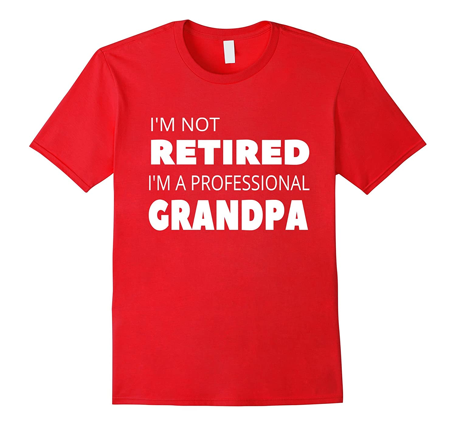 Mens Retirement Gifts for Grandpa Grandfather Men T-Shirt-RT