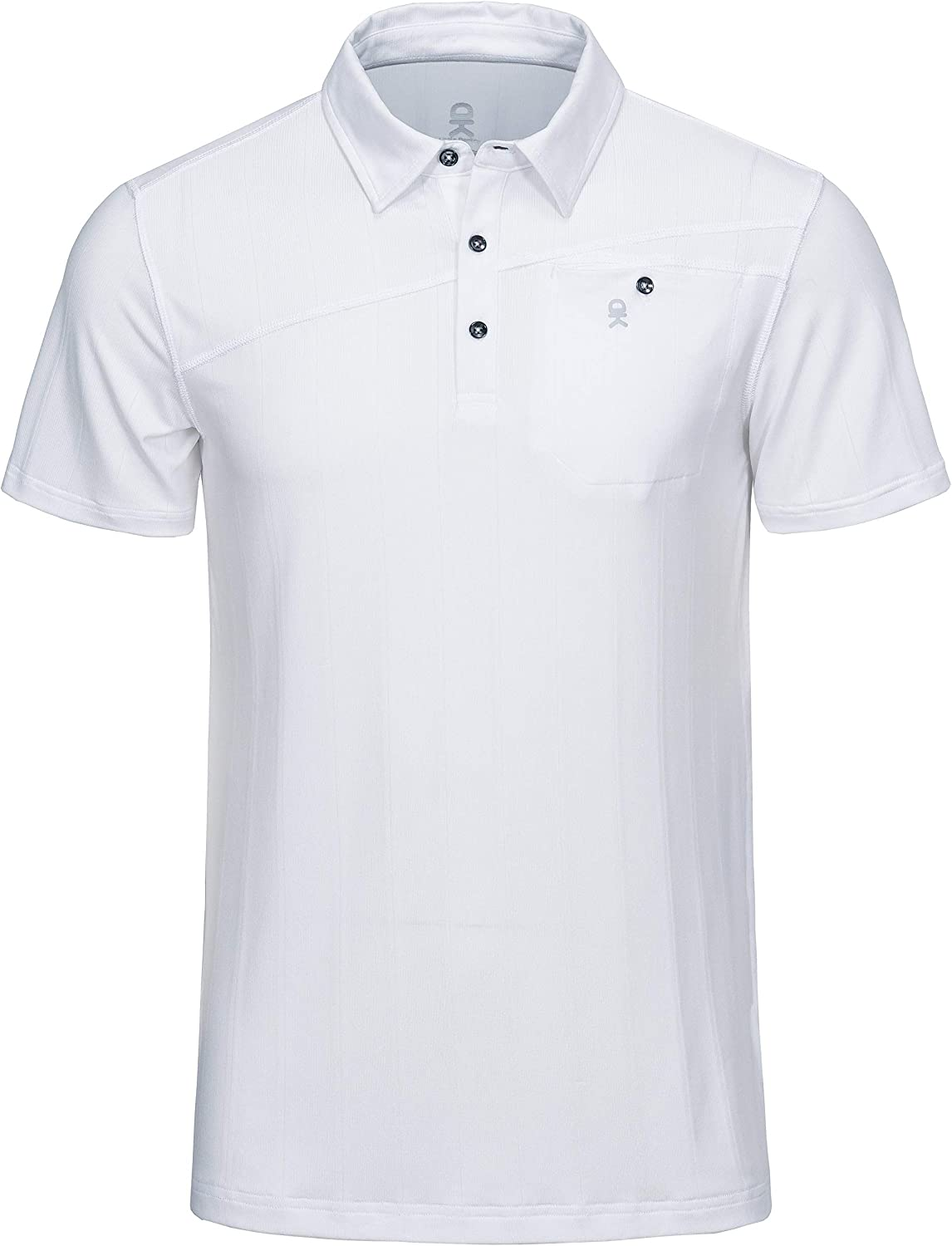 Little Donkey Andy Men's Performance Polo Shirts Short/Long Sleeve Quick-Dry Athletic Golf Shirts