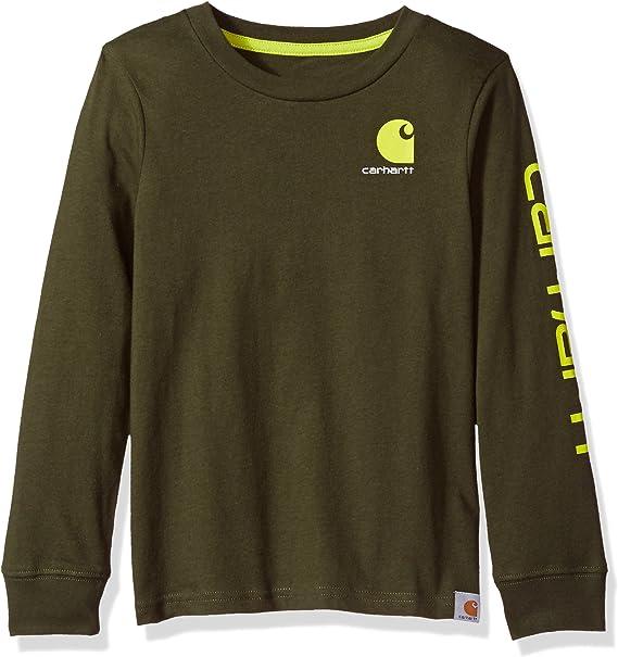 Carhartt Boys Long Sleeve Tee Shirt