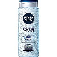 NIVEA MEN Pure Impact Shower Gel, 500ml