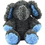 """iPetPals """"Great Toy Gift for the Holidays!"""" 16"""" Tall 2-in-1 Stuffed Animal Speaker System for Tablets, iPad, iPod/iPod Nano, iPhone, Smartphones and MP3 Players (Elephant Blue/Gray)"""