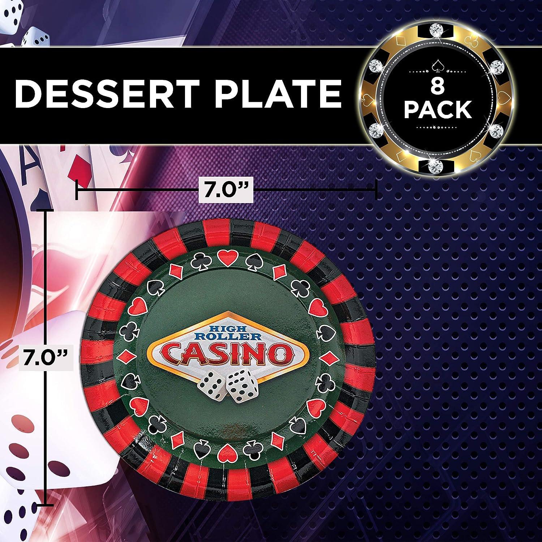 Amazon.com: Servilletas únicas para fiestas de casino ...