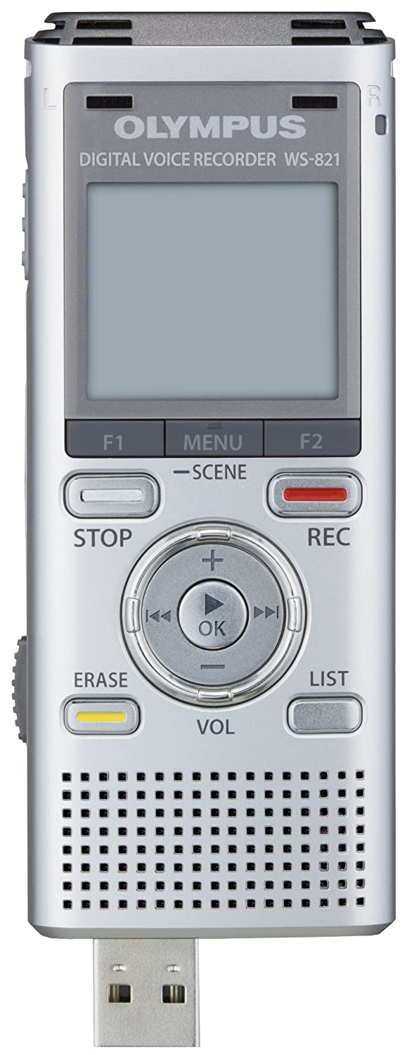 amazon com olympus ws 821 voice recorders with 2 gb built in