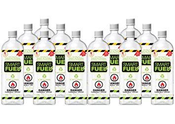 Buy SMARTFUEL Bio-Ethanol Fireplace Fuel : 1 Case (12 liters): Fire Starters - Amazon.com ? FREE DELIVERY possible on eligible purchases