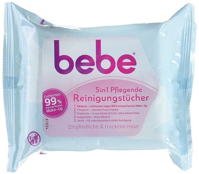 Bebe 5 in1 - Toallitas limpiadoras/toallitas desmaquillantes para ...