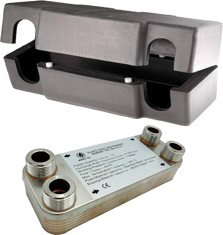 1 /Échangeur de chaleur thermique /à plaque NORDIC TEC Ba-32-30 30 plaques 175kW