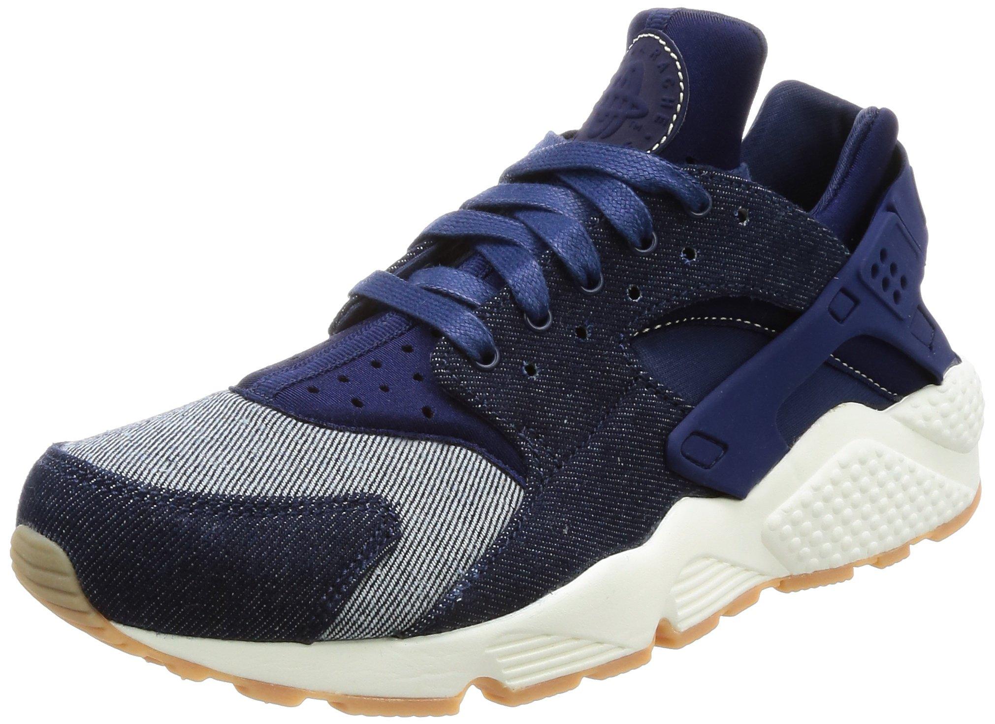 info for 64aec 04c6e Galleon - Nike Air Huarache Run SE Women s Running Shoes Binary  Blue Blue Muslin-Sail 859429-401 (6 B(M) US)