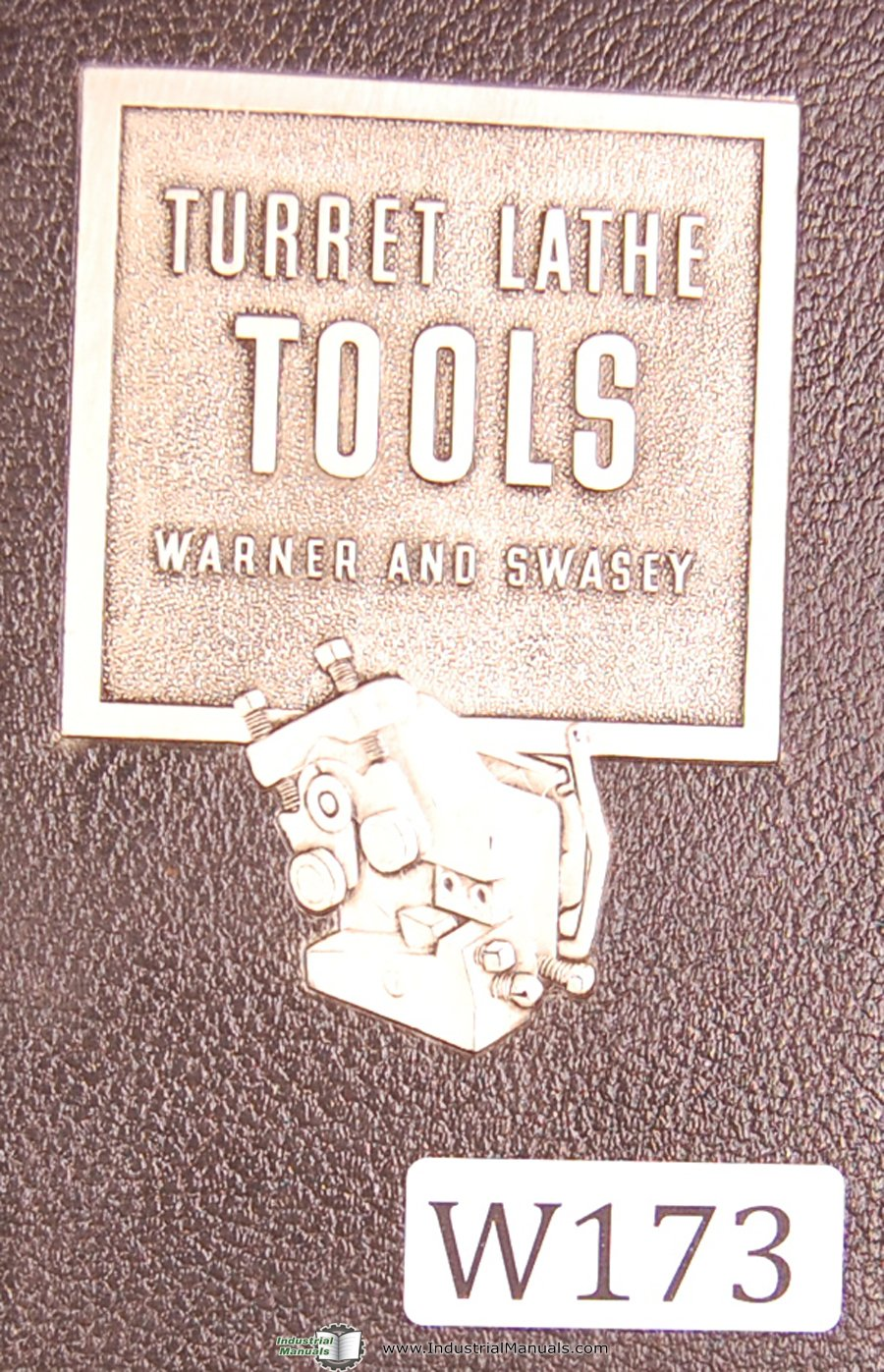 Warner & Swasey Tool Catalog No  38 Tooling Manual Year