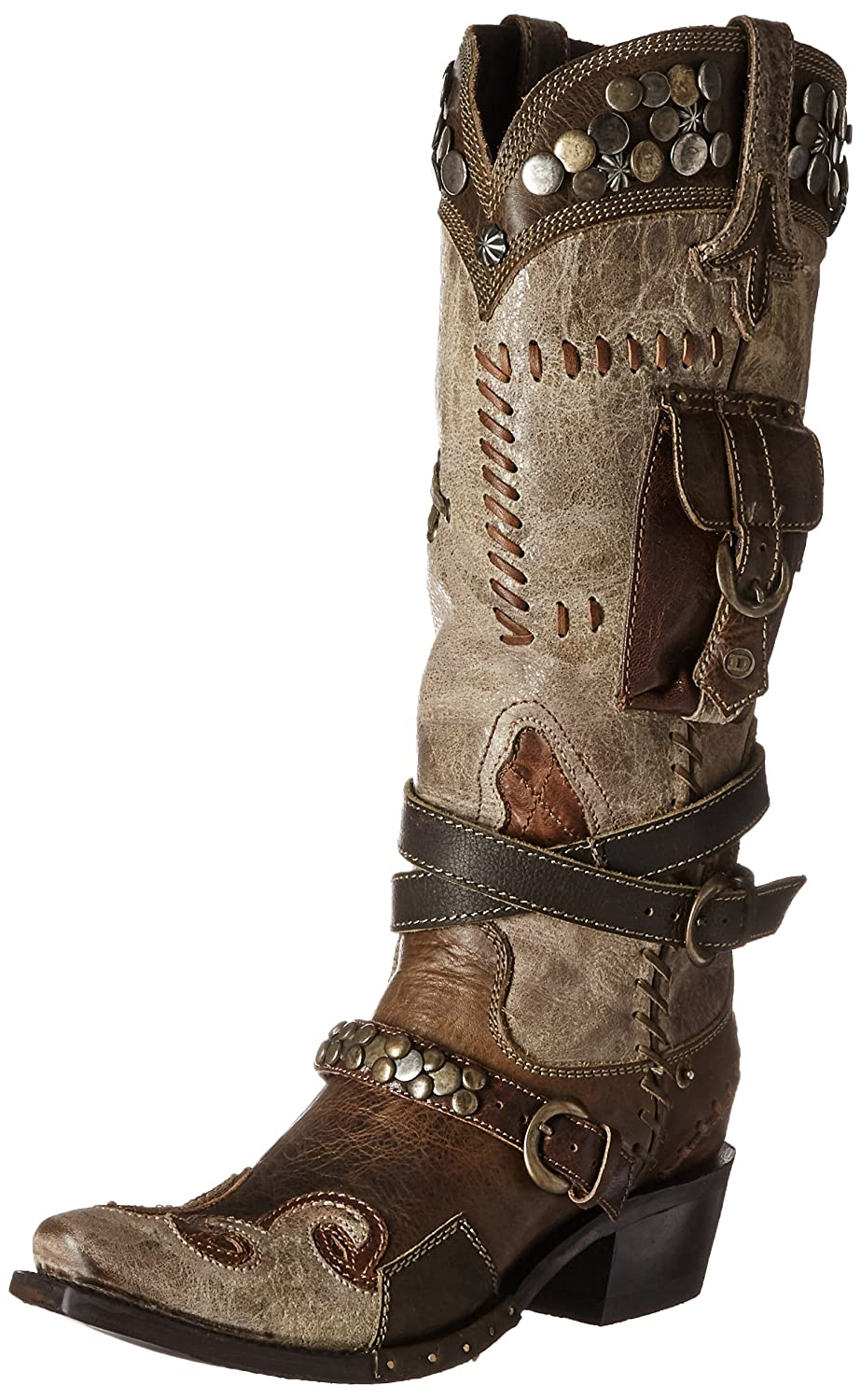1aae48dcef5a Lane Women s for Double Double Double D Ranch Frontier Trapper Cowgirl Boot  Snip Toe - Dd9004b