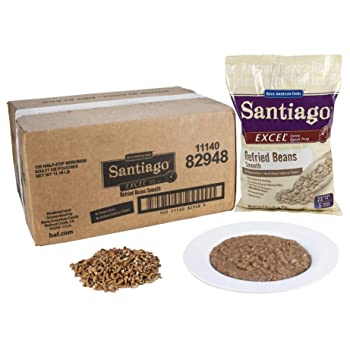 Santiago Smooth Refried Beans