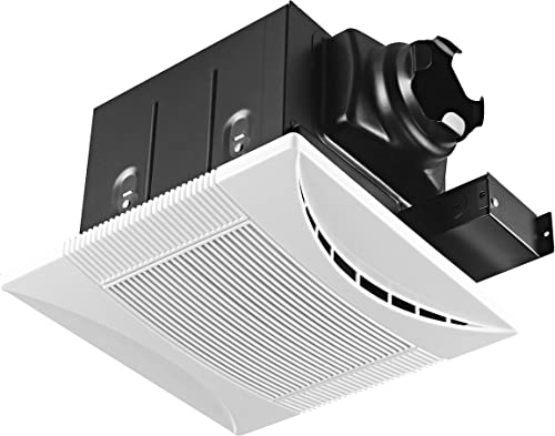 Tech Drive Super-Quiet 70 CFM, 0.3 Sone Bathroom Ventilation and Exhaust Fan 70CFM