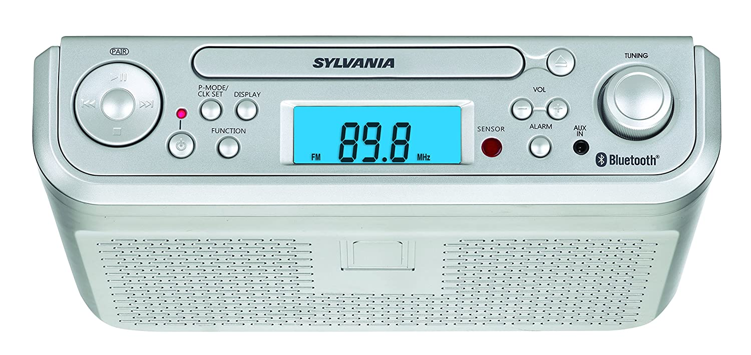 Amazon.com: Sylvania SKCR2713 Under Counter CD Player with Radio and ...