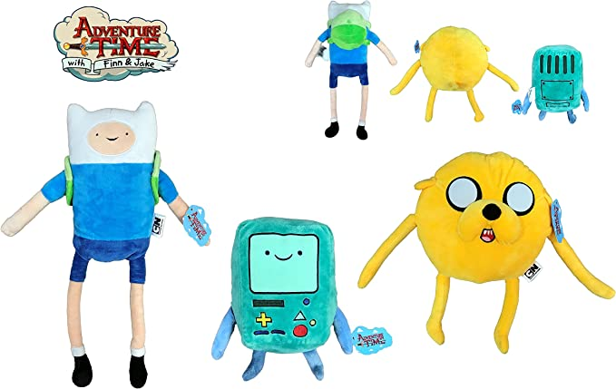 ATAT-1 Hora Aventura (Adventure Time) - Pack de 3 Peluches Finn ...