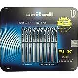 Uni-ball Roller Vision Elite Bold Black Ink Infused with Color 0.8 mm, 10 Pen