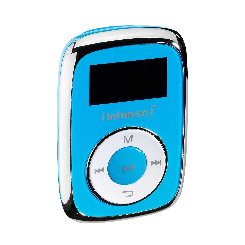 Intenso Music Mover MP3 8GB Azul - Reproductor MP3 (Reproductor de MP3, 8 GB, LCD, USB 2.0, Azul, Auriculares incluidos)