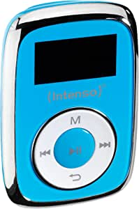 Intenso Music Mover MP3, 8GB - Mp3 Player, LCD Display, USB 2.0, Blue, incl. Stereo Headphones