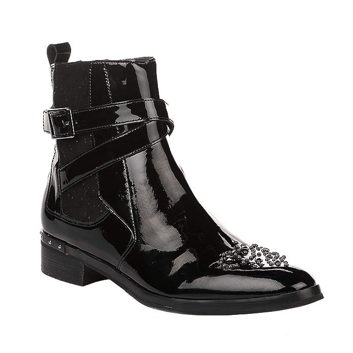 Mam'zelle Noir Femme 39Chaussures Boots Verni 3LA5Rj4cq