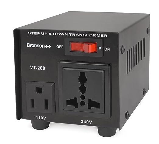 98 opinioni per Bronson++ VT 200- Convertitore 110 Volt- Trasformatore di voltaggio USA-