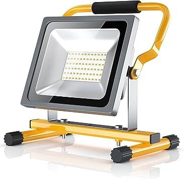 Brandson - 30W LED Proyector de construcción para exteriores - Luz ...