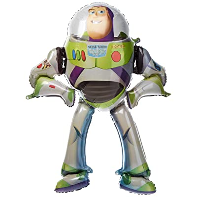 Disney Toy Story Birthday Party Balloon 53 Inches Foil Balloon Air Walker by Nick's: Home & Kitchen