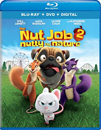 Poster of The Nut Job 2: Nutty by Nature 2017 Full Hindi Dual Audio Movie Download BluRay 480p