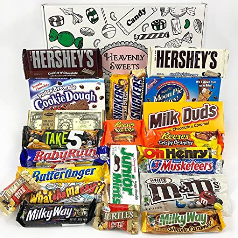 Großer Amerikanische Schokolade Geschenkkorb   Auswahl beinhaltet ...